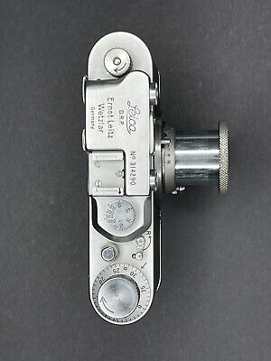 Leica II Camera And Elmar 5cm Lens Made By Ernst Leitz Wetzlar (1939) • 300£