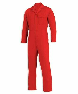 Alexandra W108 Red Proban Flame Fire Retardant Boilersuit 46  Tall Overall • 17.99£
