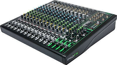 $451.24 • Buy Mackie ProFx 16 V3 16 CH Mixer With Effects