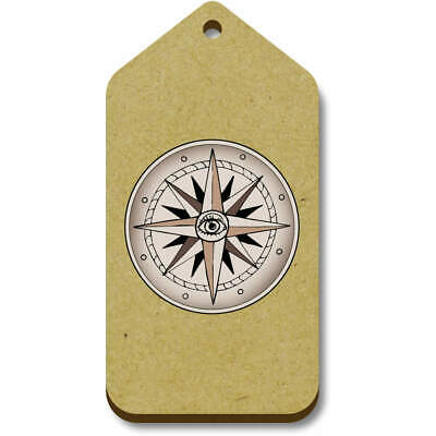 'Compass' Gift / Luggage Tags (Pack Of 10) (TG028441) • 4.99£