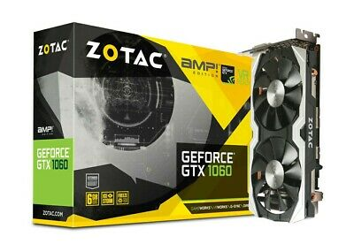 $ CDN400 • Buy ZOTAC NVIDIA GTX 1060 AMP EDITION 6GB GDDR5 Video Graphics Card
