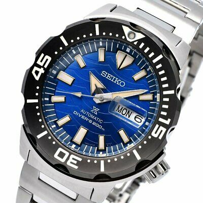 $ CDN510.35 • Buy SEIKO Prospex Save The Ocean Monster Diver SRPE09K1 Automatic Limited Warranty