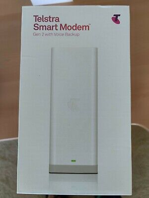 AU25 • Buy Telstra Smart Modem Gen 2 With Voice And 4G Backup (New)