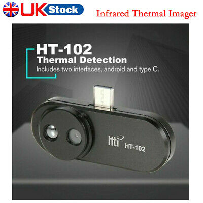 £119.89 • Buy Infrared Thermal Imager HT-102 USB Mobile Security Camera For Android Phone UK