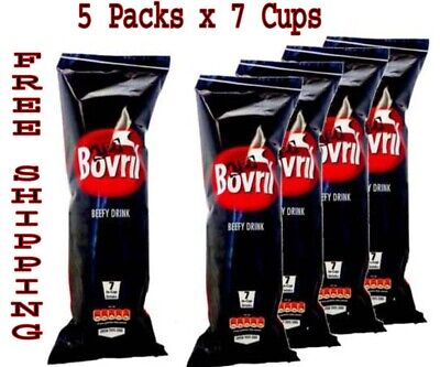 £9.59 • Buy Bovril Beefy Drink Instant 5 Packs X 7 Cups