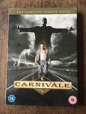 CARNIVALE  DVD Complete Series 2. New And Sealed. 12 Episodes On 6 Discs. • 12£