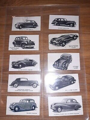 Kelloggs Collector Cards Cars British Old Original • 15£