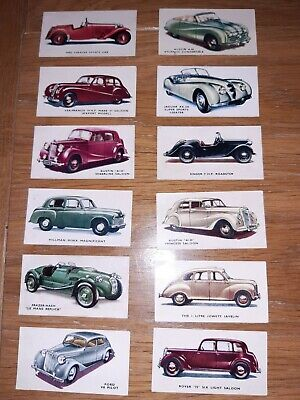 Kelloggs Collector Cards Colour Old British Cars Original • 20£