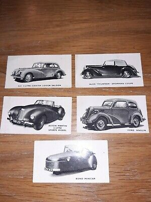 Kelloggs Collector Cards British Cars Old Original • 10£