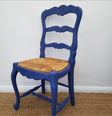 Stunning French Antique Chair Hand Painted Using Annie Sloan Chalk Paint - Napol • 88£