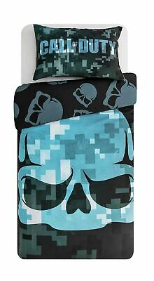 £23.95 • Buy Call Of Duty Single Duvet And Pillowcase Reversible Bedding Set Cotton NEW Gift