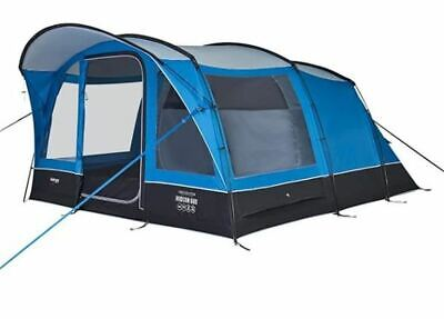 Vango Hudson 600 6 Person Weekend Family Camping Tunnel Tent VA02489 • 319.99£