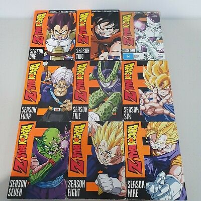 AU219.95 • Buy DRAGON BALL Z COMPLETE SERIES SEASON 1 2 3 4 5 6 7 8 9 DVD SET Anime SEASON 1-9