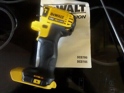 Dewalt DCD785 18V XR 2 Speed Hammer Drill Clamshell - BRAND NEW • 9.99£