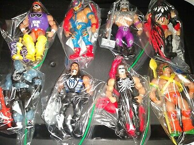 $229.99 • Buy Masters Of The WWE Universe Series 1 & 2 Set Figure Lot Sting Ultimate Warrior