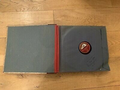 Album Gramophone Records 9 X His Masters Voice 9 Decca 78rpm Vinyl  • 16£