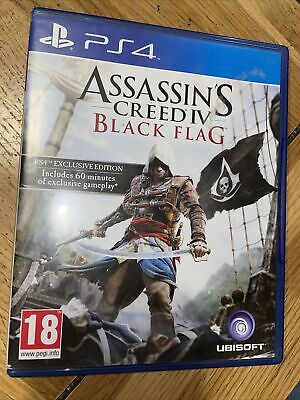 Assassin's Creed IV: Black Flag (PlayStation 4, 2013) • 3.20£