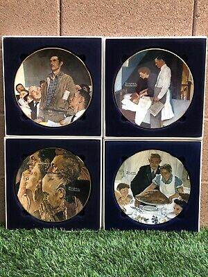 $ CDN156.92 • Buy Norman Rockwell's Four Freedoms Plate Set. Limited Edition 1975/1976