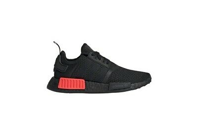 AU85 • Buy Men's Adidas NMD R1 Black/Red Size US 12 BRAND NEW