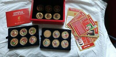 Liverpool Hall Of Fame Coin Collection • 428£