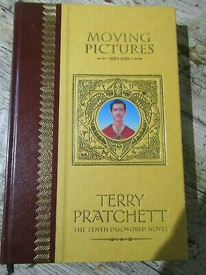£40 • Buy Terry Pratchett Moving Pictures Discworld Hardback Unseen Library Edition 2004
