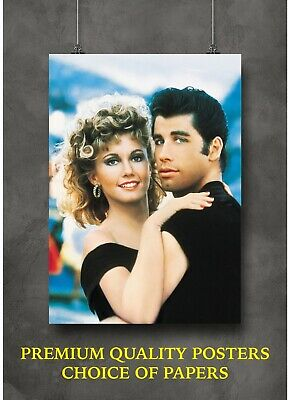 £4 • Buy Grease Classic Vintage Movie Large Poster Art Print Gift A0 A1 A2 A3 A4 Maxi