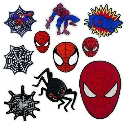 £2.19 • Buy Spiderman Comic Character Cartoon Movies Badges Iron Or Sew On Embroidered Patch