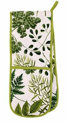Royal Horticultural Society Foliage Double Oven Glove NWT  • 0.99£