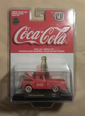 $ CDN30 • Buy Coca-Cola M2 Machines 1959 Chevy Fleetside Chase 1:64 - BRAND NEW