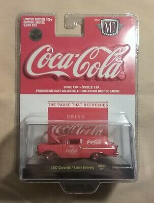 $ CDN30 • Buy M2 MACHINES 1957 Chevrolet Sedan Delivery COCA COLA 1:64 CHASE