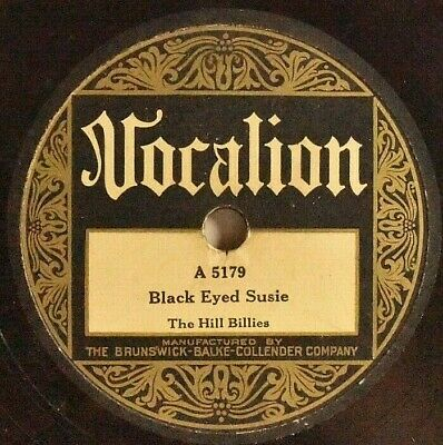 £48.14 • Buy Vocalion 78 The Hill Billies Black Eyed Susie Cluck Old Hen