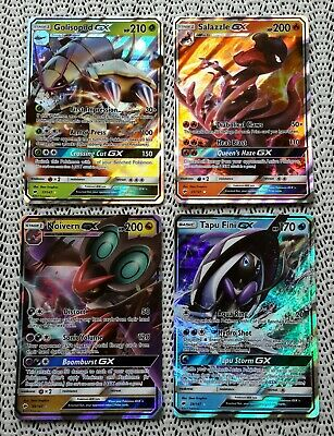 AU29.95 • Buy Pokemon GX Holo Card Bulk Lot - Rare Cards