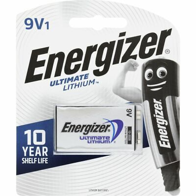 AU14 • Buy Energizer Ultimate Lithium 9V Battery 1 Pack Brand New And Sealed