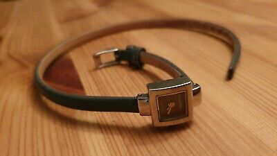 £80 • Buy Rare Pandora Watch Leather Double Wrap Strap Square Face