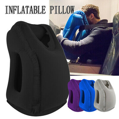 AU16.95 • Buy Comfortable New Inflatable Air Travel Pillow Cushion Neck Flight Support Nap AU