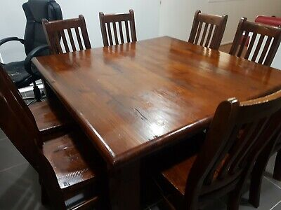 AU250 • Buy 8 Seater Dining Table And Chairs