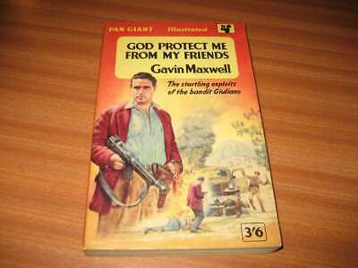 £14.99 • Buy God Protect Me From My Friends By Gavin Maxwell Vintage Pan Books Edition