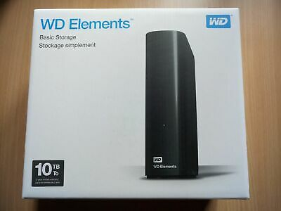 AU285 • Buy PC WD 10TB Elements External Hard Drive (Boxed) WESTERN DIGITAL HDD USB 3.0