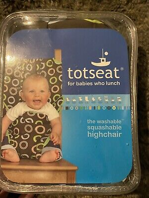 Totseat - Squashable Washable Highchair • 0.99£