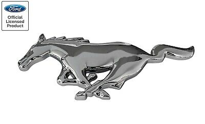 $29.95 • Buy 2005-2009 Ford Mustang Chrome Running Horse Grille Emblem 8