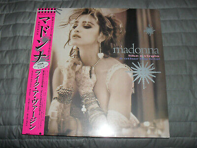 Madonna- Like A Virgin And Other Hits- 4 Track Mini Lp- New/sealed • 22£