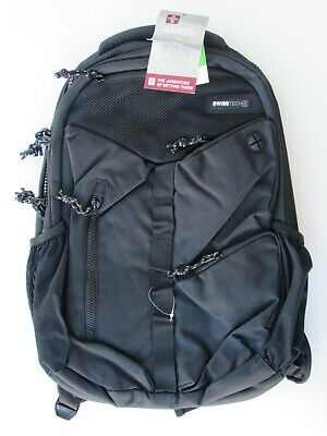 SWISS TECH Laptop BACKPACK Black New With Tags   • 7.84£