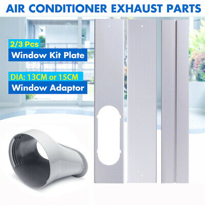 AU14.88 • Buy 2/3x Window Slide Kit Plate Or 1x Window Adaptor For Portable Air Conditioner AU