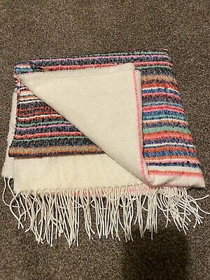 Gap Cream Stripe Multicoloured Scarf BNWT • 5£
