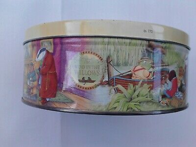 The Wind In The Willows Collectible Biscuit Tin • 4.99£