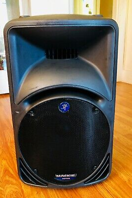$205 • Buy Mackie SRM450 12  12 Inch Active 400W Active Loudspeaker Tested Fully Working