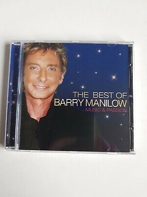 Barry Manilow - The Best Of (Music & Passion) (CD 2008) • 2.25£