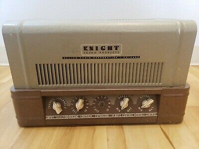 $ CDN317.70 • Buy Allied Radio Knight Tube Amplifier – For Parts Or Repair.