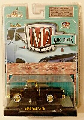 $ CDN12.63 • Buy M2 Machines Auto-trucks 1956 Ford F-100 Gold Chase