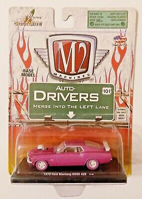 $ CDN43.38 • Buy M2 Machines Auto-drivers R18 1970 Ford Mustang Boss 429 Pink Chase